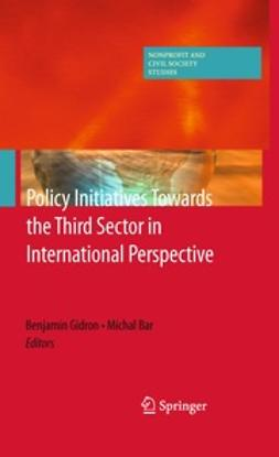 Gidron, Benjamin - Policy Initiatives Towards the Third Sector in International Perspective, ebook