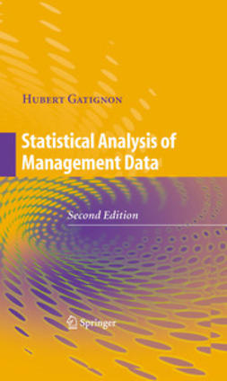 Gatignon, Hubert - Statistical Analysis of Management Data, ebook