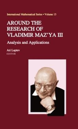 Laptev, Ari - Around the Research of Vladimir Maz'ya III, ebook
