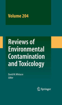 Whitacre, David M. - Review of Environmental Contamination and Toxicology Volume 204, e-bok