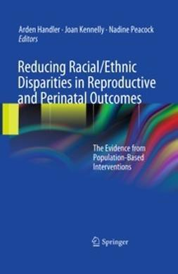Handler, Arden - Reducing Racial/Ethnic Disparities in Reproductive and Perinatal Outcomes, e-bok
