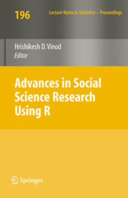 Vinod, Hrishikesh D. - Advances in Social Science Research Using R, ebook