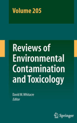 Whitacre, David M. - Reviews of Environmental Contamination and Toxicology 205, e-bok
