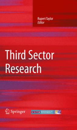 Taylor, Rupert - Third Sector Research, ebook