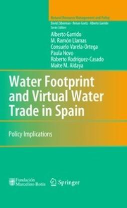 Garrido, Alberto - Water Footprint and Virtual Water Trade in Spain, ebook