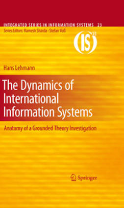 Lehmann, Hans - The Dynamics of International Information Systems, e-bok