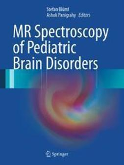 Blüml, Stefan - MR Spectroscopy of Pediatric Brain Disorders, ebook