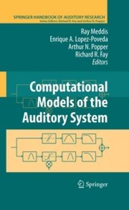 Meddis, Ray - Computational Models of the Auditory System, ebook