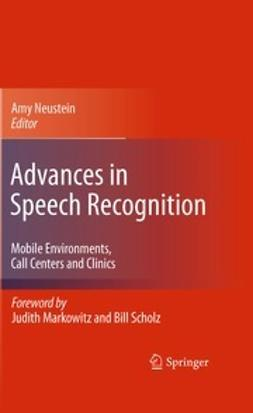 Neustein, Amy - Advances in Speech Recognition, ebook
