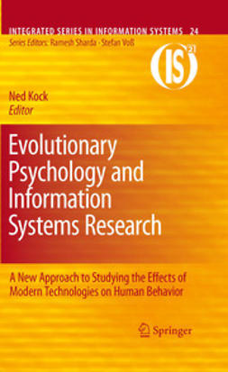 Kock, Ned - Evolutionary Psychology and Information Systems Research, ebook