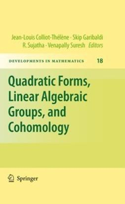 Colliot-Thélène, Jean-Louis - Quadratic Forms, Linear Algebraic Groups, and Cohomology, ebook