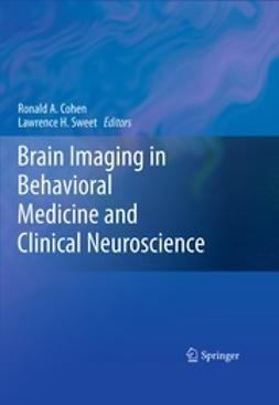 Cohen, Ronald A. - Brain Imaging in Behavioral Medicine and Clinical Neuroscience, ebook