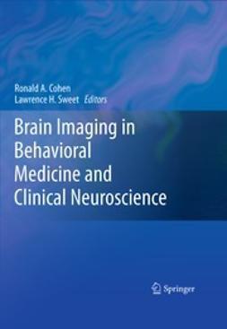 Cohen, Ronald A. - Brain Imaging in Behavioral Medicine and Clinical Neuroscience, ebook