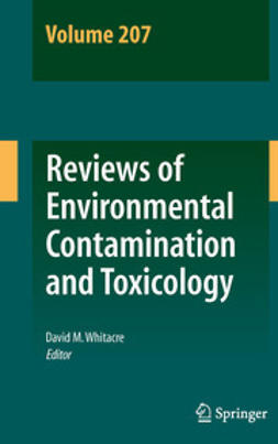 Whitacre, David M. - Reviews of Environmental Contamination and Toxicology Volume 207, e-bok
