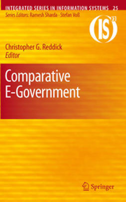 Reddick, Christopher G. - Comparative E-Government, e-bok
