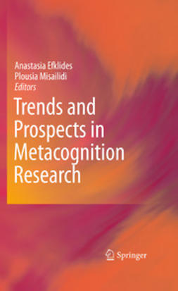 Efklides, Anastasia - Trends and Prospects in Metacognition Research, e-kirja