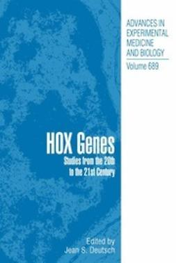 Deutsch, Jean S. - Hox Genes, ebook