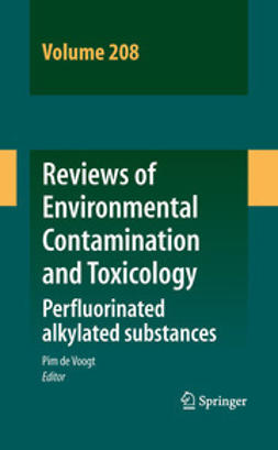 Voogt, Pim De - Reviews of Environmental Contamination and Toxicology Volume 208, e-kirja