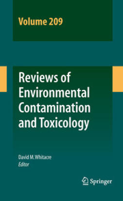 Whitacre, David M. - Reviews of Environmental Contamination and Toxicology Volume 209, e-kirja