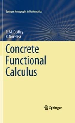 Dudley, R. M. - Concrete Functional Calculus, e-kirja