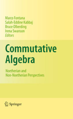 Fontana, Marco - Commutative Algebra, ebook