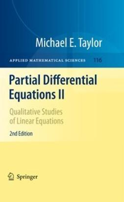 Taylor, Michael E. - Partial Differential Equations II, ebook