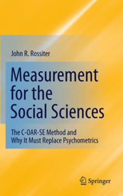 Rossiter, John R. - Measurement for the Social Sciences, ebook