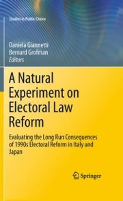 Giannetti, Daniela - A Natural Experiment on Electoral Law Reform, ebook
