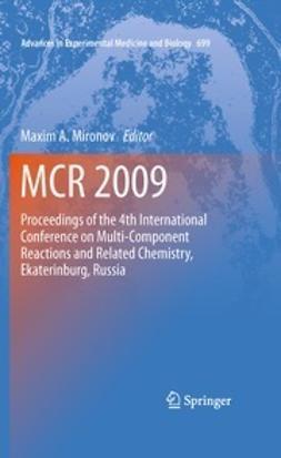 Mironov, Maxim A. - MCR 2009, e-bok