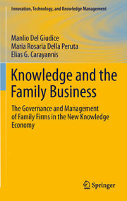 Giudice, Manlio Del - Knowledge and the Family Business, ebook