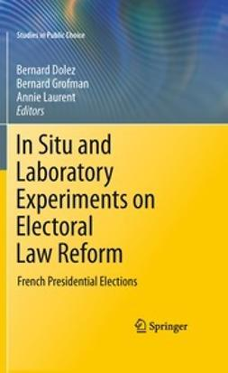 Dolez, Bernard - In Situ and Laboratory Experiments on Electoral Law Reform, ebook