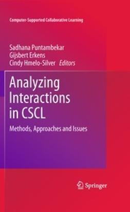 Puntambekar, Sadhana - Analyzing Interactions in CSCL, ebook