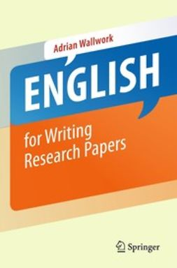 Wallwork, Adrian - English for Writing Research Papers, ebook