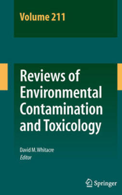 Whitacre, David M. - Reviews of Environmental Contamination and Toxicology Volume 211, e-bok