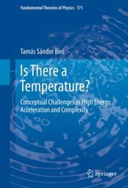 Biró, Tamás Sándor - Is There a Temperature?, ebook