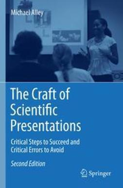 Alley, Michael - The Craft of Scientific Presentations, ebook
