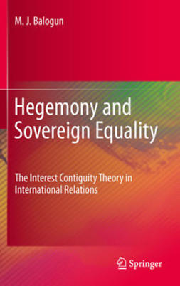 Balogun, M. J. - Hegemony and Sovereign Equality, ebook