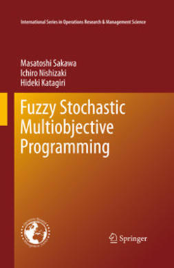 Sakawa, Masatoshi - Fuzzy Stochastic Multiobjective Programming, ebook