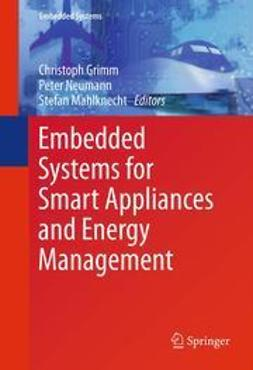 Grimm, Christoph - Embedded Systems for Smart Appliances and Energy Management, e-bok