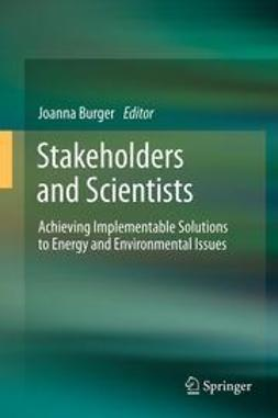 Burger, Joanna - Stakeholders and Scientists, ebook