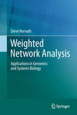 Horvath, Steve - Weighted Network Analysis, ebook