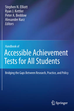 Elliott, Stephen N. - Handbook of Accessible Achievement Tests for All Students, ebook