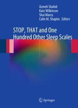 Shahid, Azmeh - STOP, THAT and One Hundred Other Sleep Scales, ebook