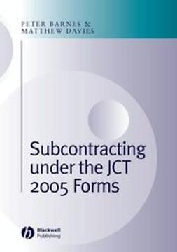 Barnes, Peter A. - Subcontracting Under the JCT 2005 Forms, ebook