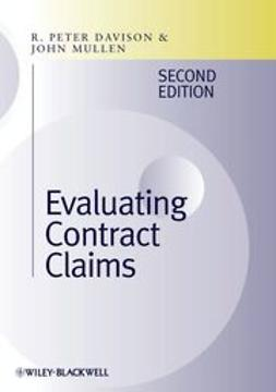 Davison, R. Peter - Evaluating Contract Claims, ebook