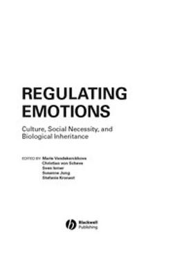 Vandekerckhove, Marie - Regulating Emotions, ebook