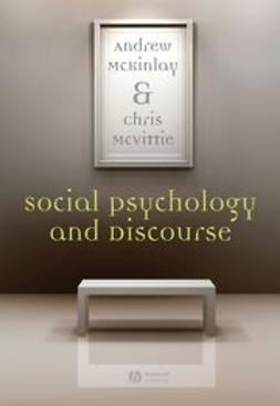 McKinlay, Andy - Social Psychology and Discourse, e-kirja