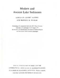 Matter, A. - Lake Sediments: Special Publication 2 of the IAS, ebook