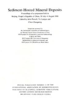 Parnell, J. - Sediment-Hosted Mineral Deposits: Special Publication 11 of the IAS, ebook