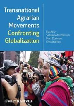 Borras, Saturnino M. - Transnational Agrarian Movements Confronting Globalization, ebook